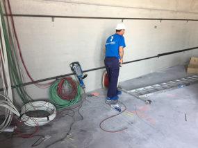 Ejecución de instalaciones y pasos con ejecución de rozas.