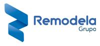 Logotipo Grupo Remodela Empresa de Construcción y Reformas. Arquitectura, Diseño e Interiorismo